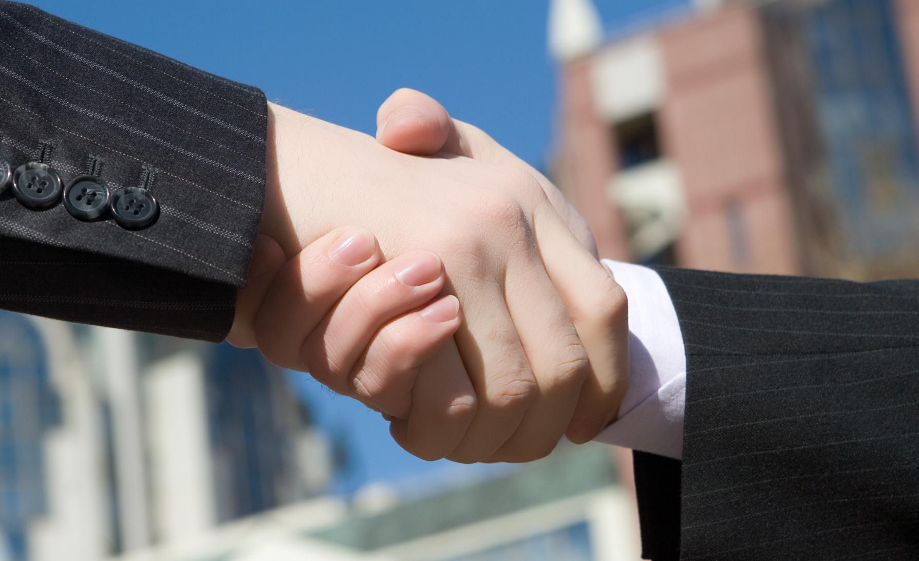shake hand image